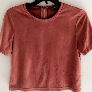 Swede T-Shirt Red/Garnet Color